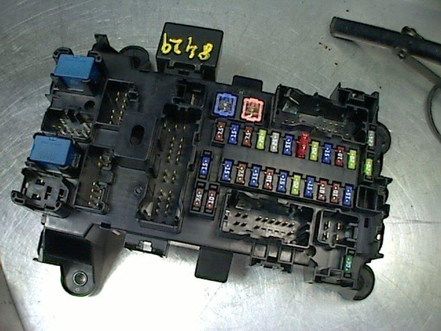 2006 Suzuki Grand Vitara Fuse Box Location