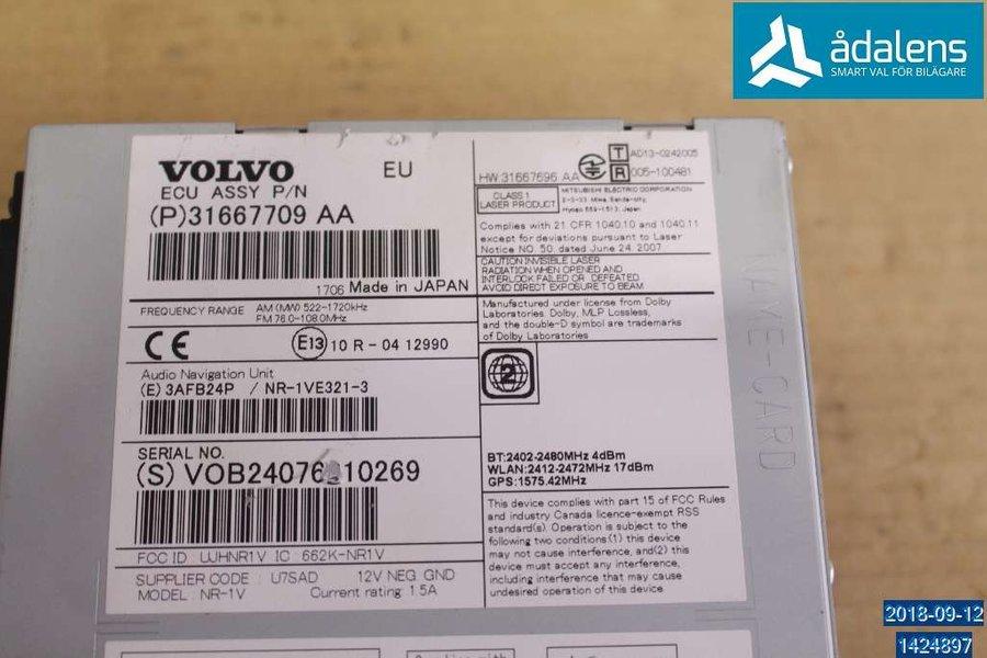 CD Radio, Volvo XC60 -2017